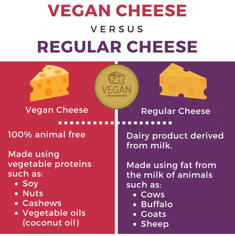 vegan cheese vs regular cheese